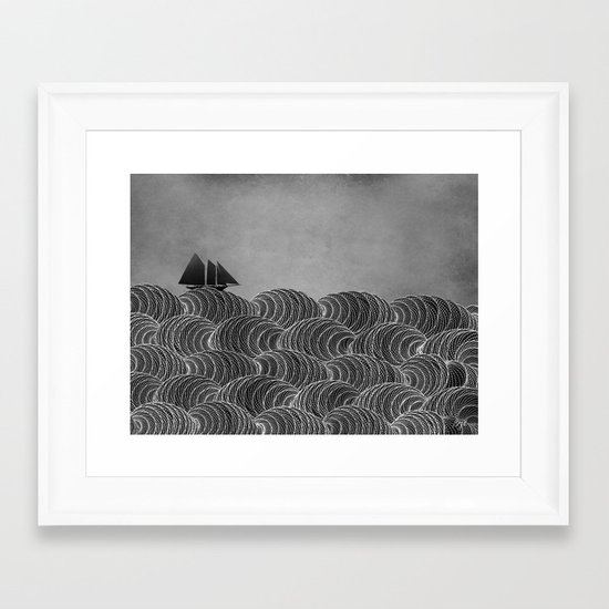 The Ancient Sea Framed Art Print