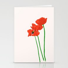 Lovely Poppies Stationery Cards