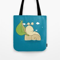 S(n)ail Away Tote Bag