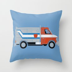 Optimus Van Throw Pillow