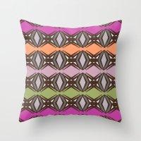 pattern series 121 Throw Pillow