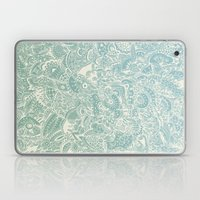 Detailed rectangle, light blue  Laptop & iPad Skin