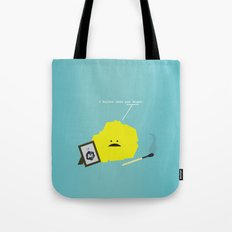 I Sulfur When You Argon Tote Bag