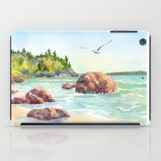 Morning on the Beach iPad Case