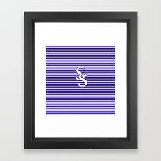 Sam Smith, SS logo, t-shirts, For the Little Sailors Framed Art Print