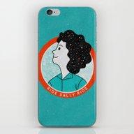 Ride Sally Ride iPhone & iPod Skin