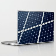 Solar Power Panel Laptop & iPad Skin
