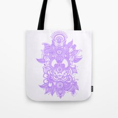 Purple Henna Tote Bag