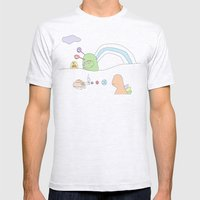 Funland 4 Mens Fitted Tee Ash Grey SMALL