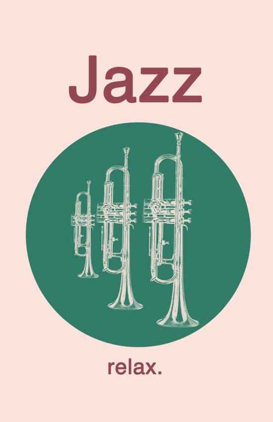 Jazz Relax Art Print