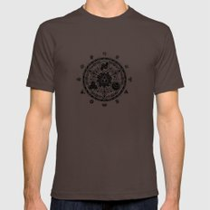 The Legend Of Zelda Mens Fitted Tee Brown SMALL