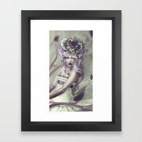 Poisoned Lullaby Framed Art Print