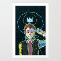 Rule Hyperion Art Print