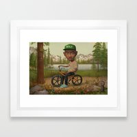 OFWGKTADGAFLSYKWTFWA  Framed Art Print