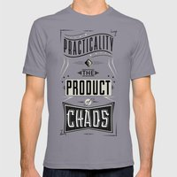 Practicality Mens Fitted Tee Slate SMALL