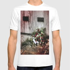 Gone But Never Forgotten Mens Fitted Tee SMALL White