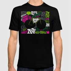 RIDE YOUR BIKES Mens Fitted Tee Black SMALL