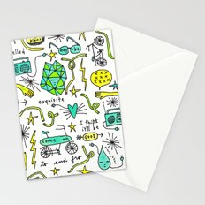 to and fro Stationery Cards