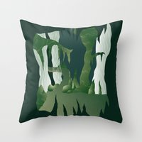 Shenmue - The Great Ston… Throw Pillow