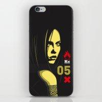 Fashion Dark Woman iPhone & iPod Skin
