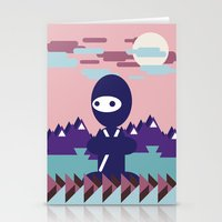 teenja ninja  Stationery Cards