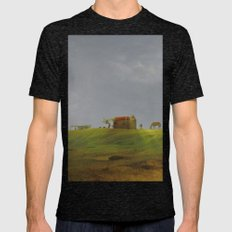 Dreamy Landscape Of Cabo… Mens Fitted Tee Tri-Black SMALL