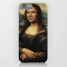 Nicholas Cage Mona Lisa … iPhone 6 Slim Case