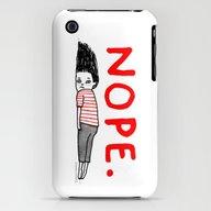 Nope iPhone (3g, 3gs) Slim Case