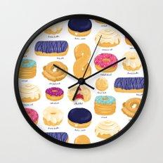 Donut Identification Wall Clock
