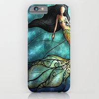 iPhone & iPod Case featuring The Mermaid by Mandie Manzano