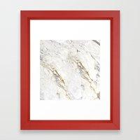 New Marble Framed Art Print