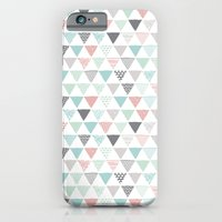 Geometric Pastel Triangl… iPhone 6 Slim Case
