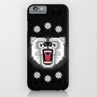iPhone & iPod Case featuring Polar Bear Geometric by chobopop