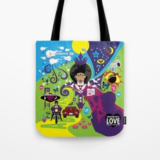 The Emoji-fication of Prince - The Full Story Tote Bag