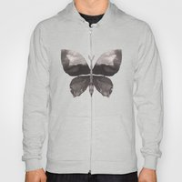 Black butterfly Hoody
