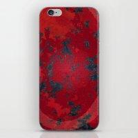 Blood Honeycomb Whisper iPhone & iPod Skin
