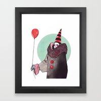 The Balloon Man Framed Art Print