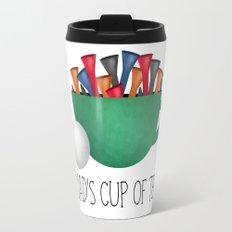 Dad's Cup Of Tee Travel Mug