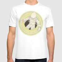 Augonaut Mens Fitted Tee White SMALL