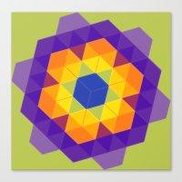 Patchwork Tiles Canvas Print