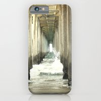 iPhone & iPod Case featuring Crashing Waves by Christina Marie