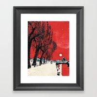 White Nights #1 Framed Art Print