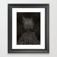 Earl. Framed Art Print