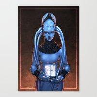 The Fifth Element: Plava… Canvas Print
