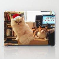 LES CATASTROPHES XMAS ED… iPad Case