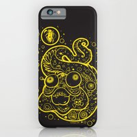 The Golden Eel (in yellow gold) iPhone 6 Slim Case