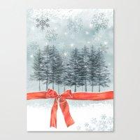 Wintertrees Canvas Print