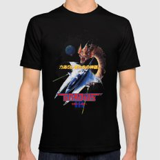 Gradius 3 Mens Fitted Tee Black SMALL
