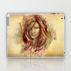 Olivia Wilde Digital Painting Portrait Laptop & iPad Skin