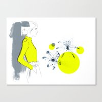 Lily*** Canvas Print